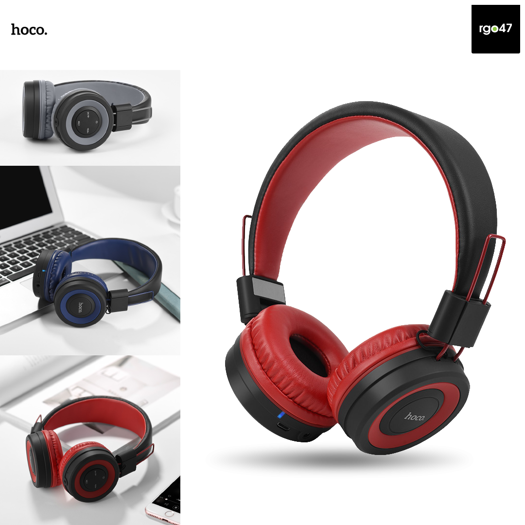 95c53850ed1 SKU : AHC9AHSW16. Hoco W16 Cool Motion Bluetooth Headphones